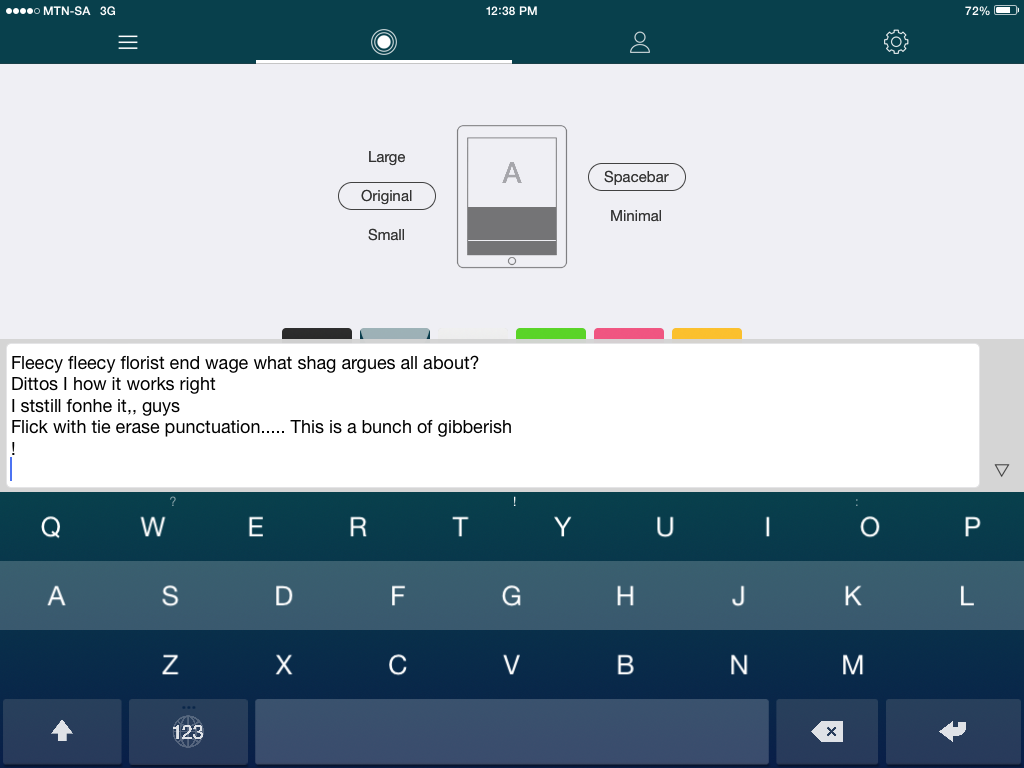 Review] Fleksy - Keyboard app for iOS8 - Tech Girl