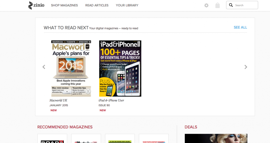 What to do this holiday? Catch up on ALL of the magazines with Zinio