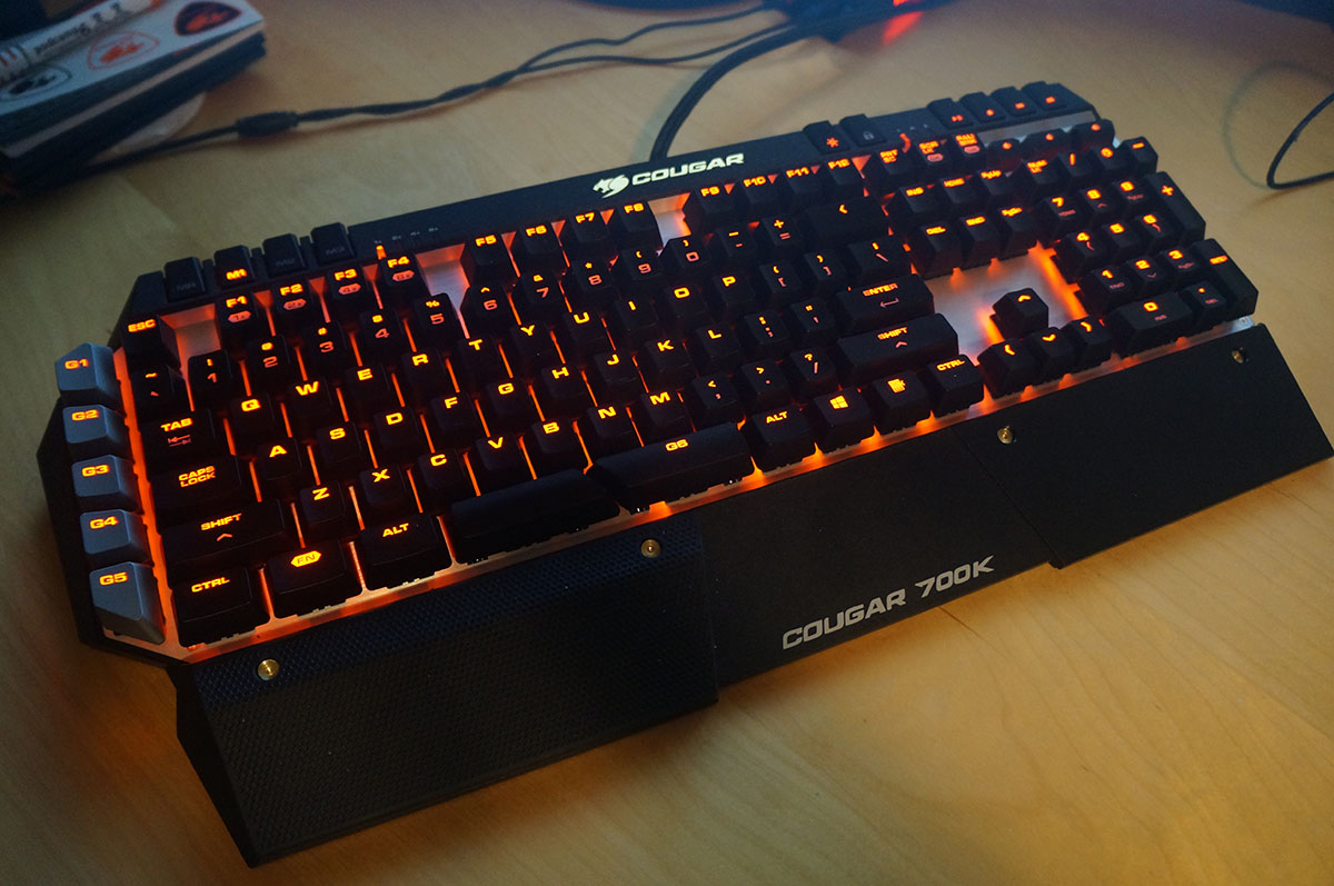 Cougar Life Reviews >> A pretty gaming keyboard - the COUGAR 700K... Yes. We said that. - Tech Girl