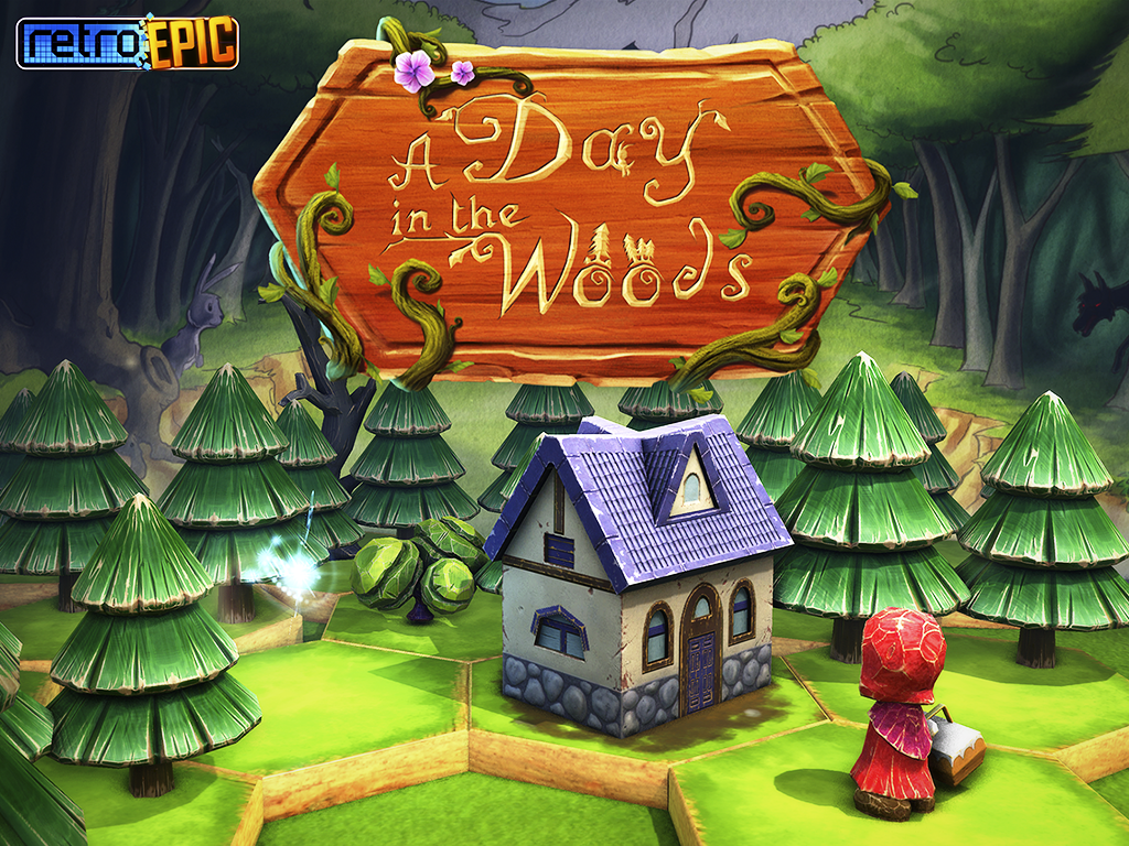 A Day in the Woods iOS game review