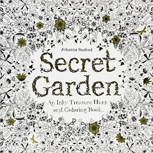 Secret Garden Colouring In Book For Adults