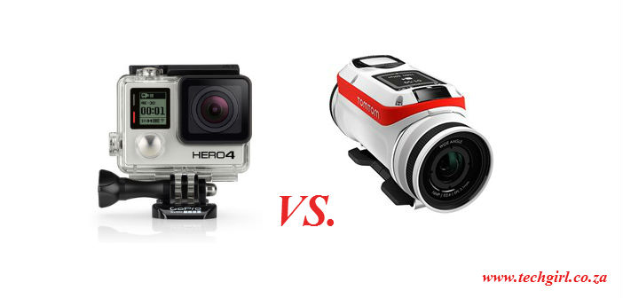 TomTom Bandit vs GoPro Hero4 Black