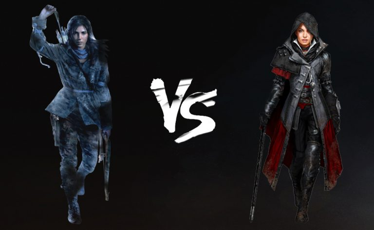 Lara Croft Vs Evie Frye The Ultimate Heroine Show Down Tech Girl