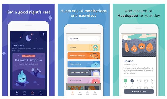 meditation apps headspace