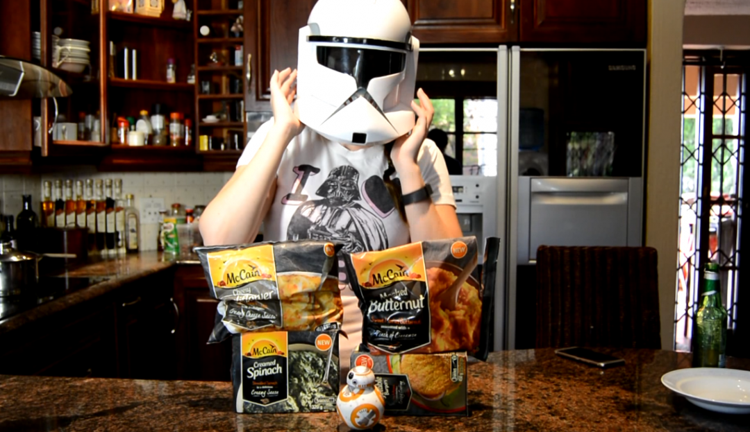 Star Wars inspired meal