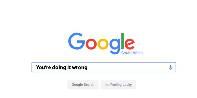 Step 2: Go To Google Via A Toolbar