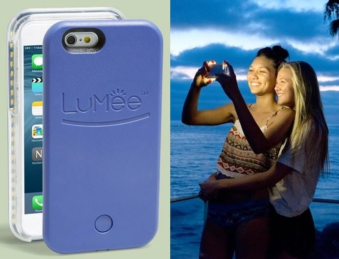 brand new 163ac 646e7 LuMee Phone cases that light up your selfies - Tech Girl