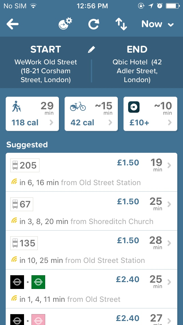 citymapper screengrab