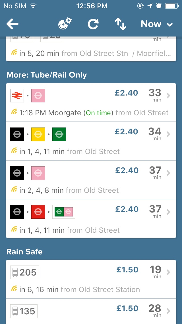 citymapper routes