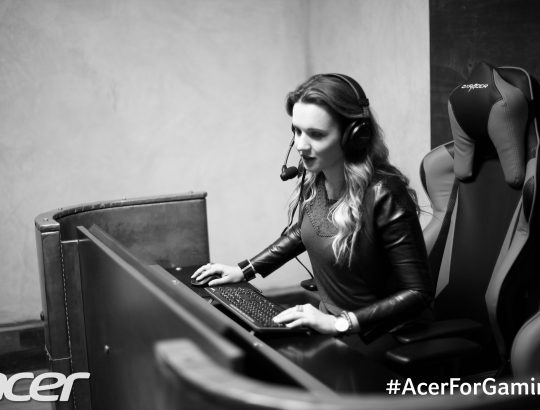 #AcerForGaming Evening