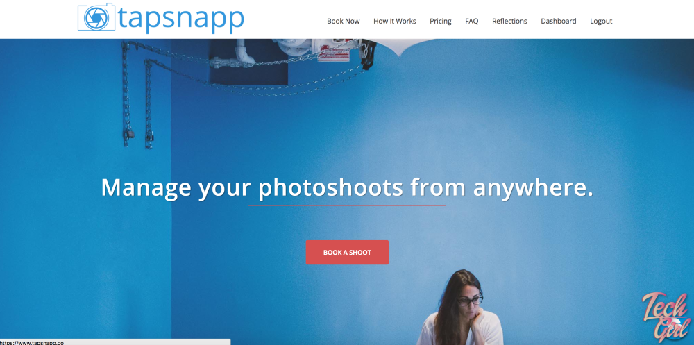 Using Tapsnapp for photographers