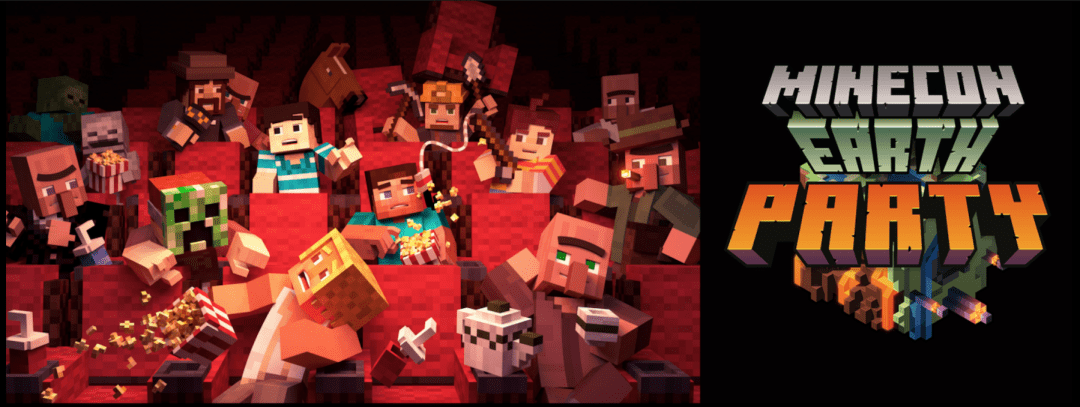 win a double ticket to the floating tree minecon viewing party in
