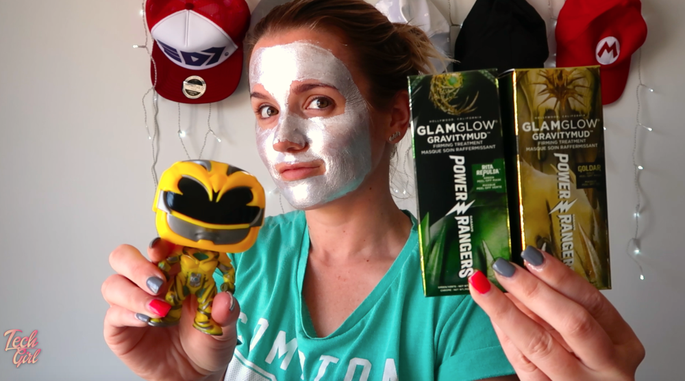 glam glow power ranger mask