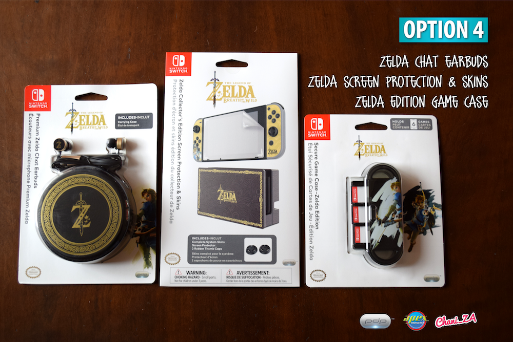 PDP Gaming Nintendo Switch Zelda accessories