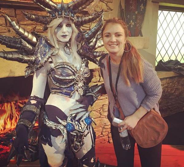 sa female hearthstone player