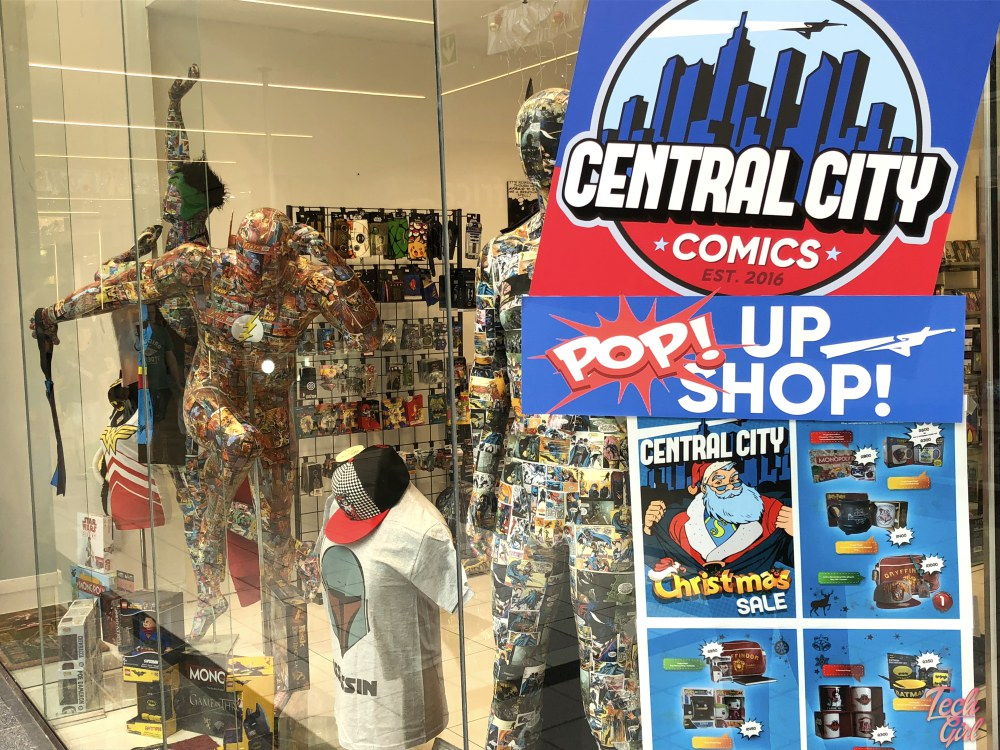 Geek pop up store