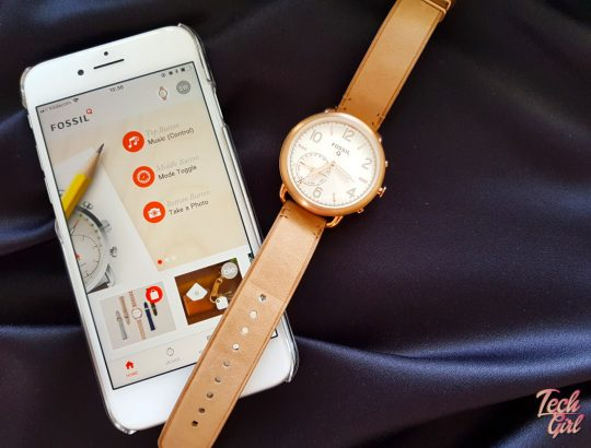 Fossil smart watch