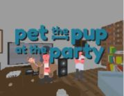 pet the pup at the party