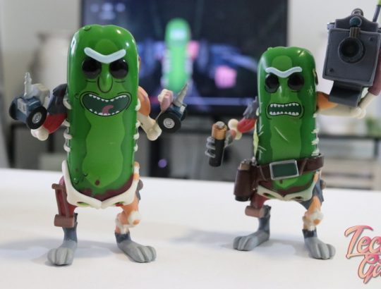 Pickle Rick Funko POPS