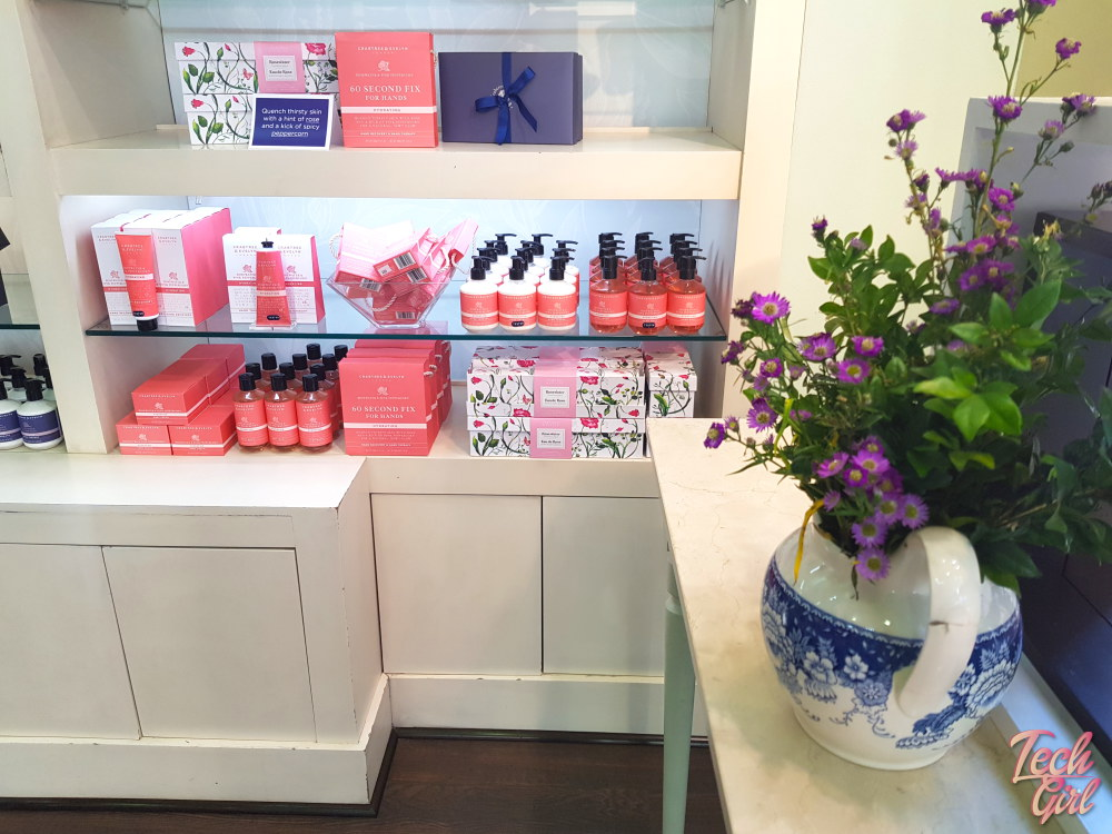 crabtree & evelyn new range