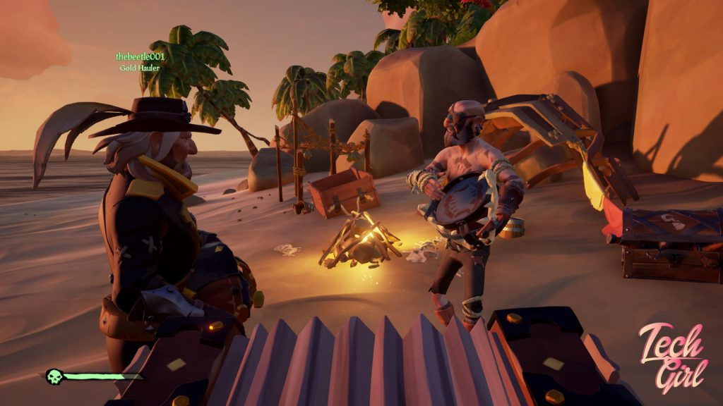 Sea of Thieves Merrick Shark Bait Cove