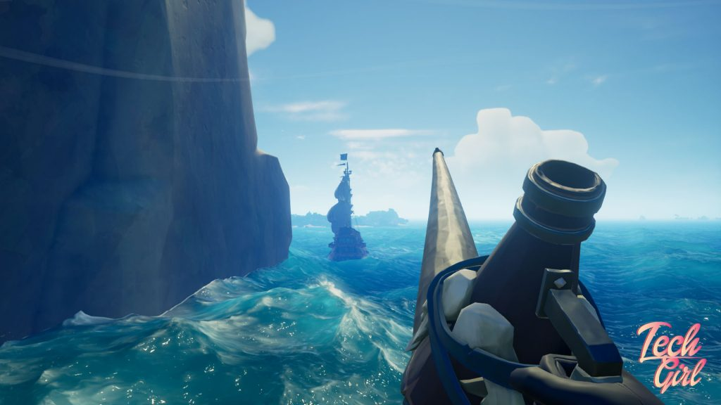 Sea of Thieves The Hungering Deep speaking trumpet galleon