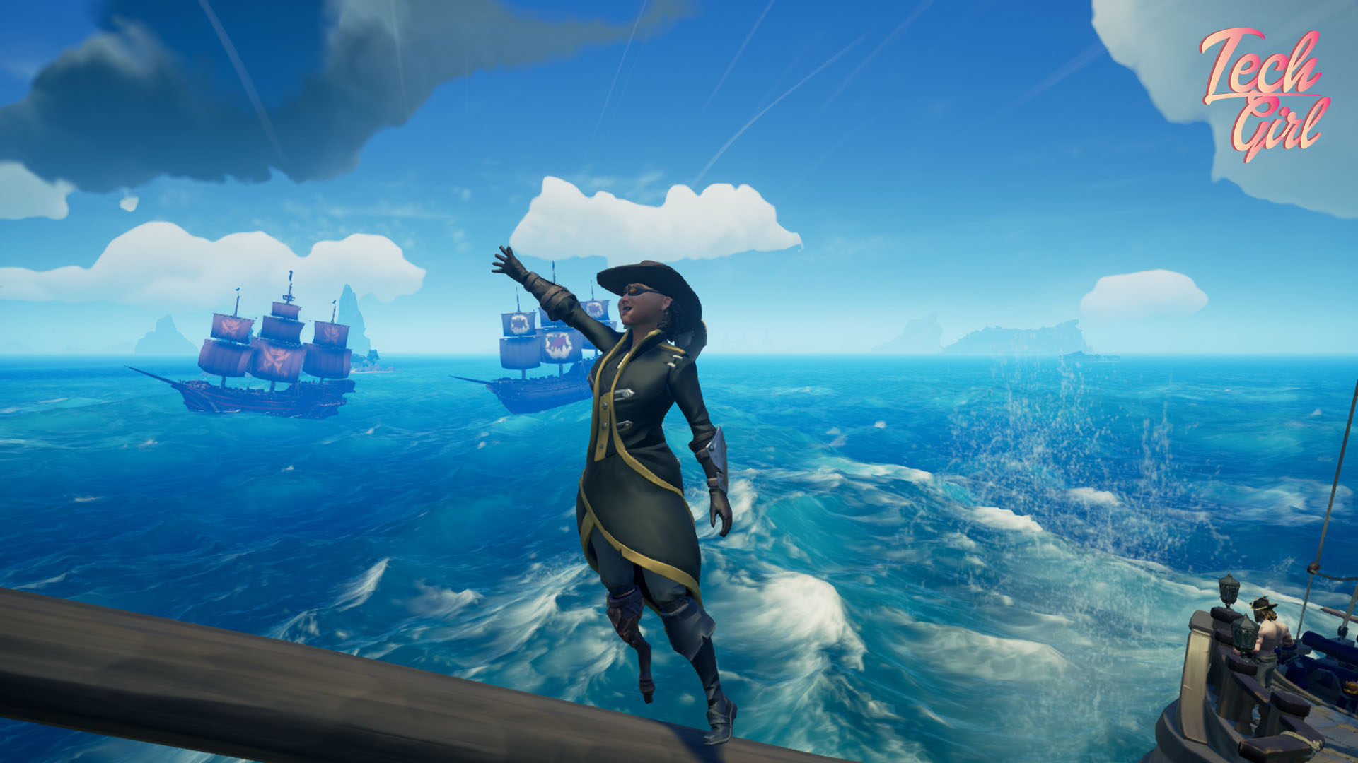 Sea of Thieves The Hungering Deep team work