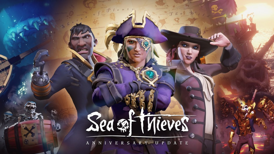 Sea of Thieves Anniversary Header
