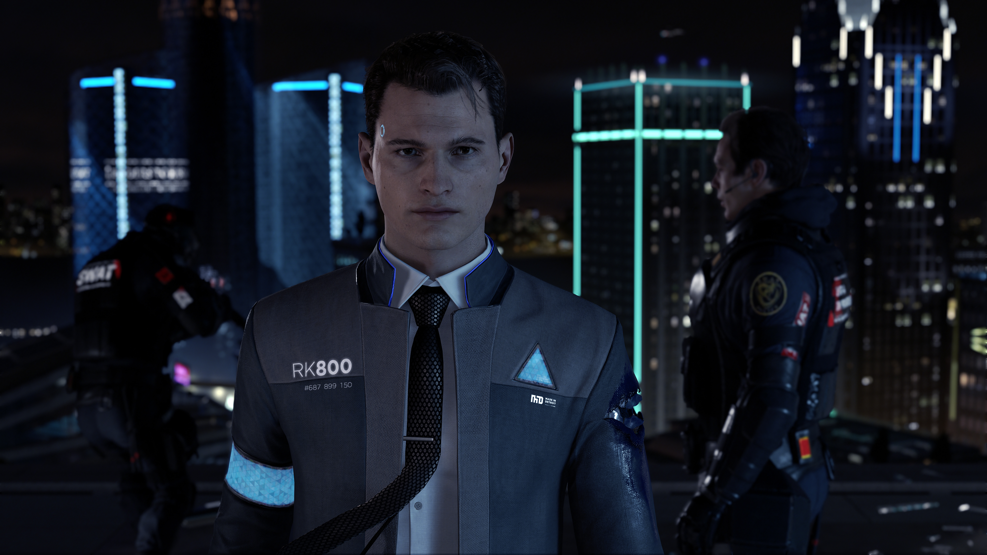 Detroit Become Human; Android; PS4; Connor