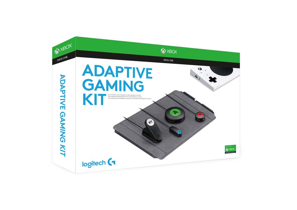 adaptive gaming kit packaging