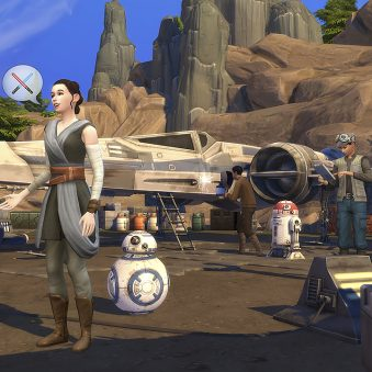 Sims Star Wars pack